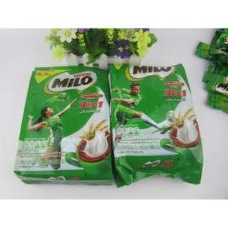 泰國MILO 美祿巧克力麥芽飲品 袋裝15入