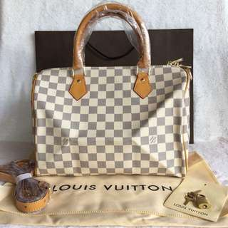 Louis Vuitton LV speedy overrun