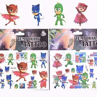 Little Kid Temporary Tattoo  Design: as attach photo