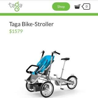 Brand New Taga Bike Stroller