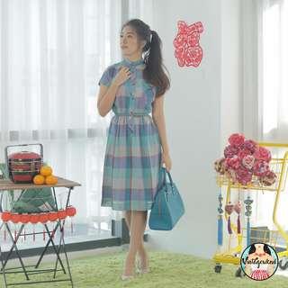 🍿 Vintage Midi Dress VD1127