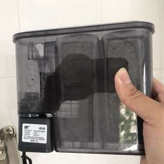 Pump filter for fish/shrimp