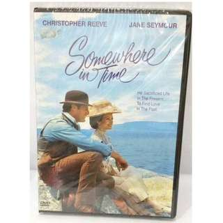 New sealed Somewhere in Time DVD