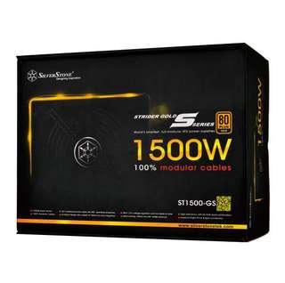 Silverstone 1500w Power Supply PSU ST1500-GS Strider Gold