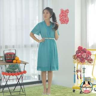 🍿 Vintage Midi Dress VD1134