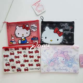 Hello Kitty n My Melody Pouches