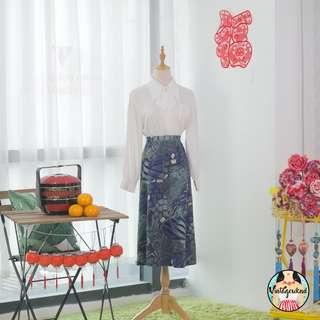 🍿 Vintage Midi Skirt VS1284