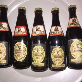 Vintage Miniature Mini Guinness Stout x 42