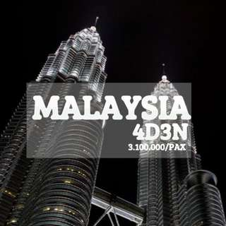 OPEN TRIP MALAYSIA 4D3N 19-21 MARET 2018
