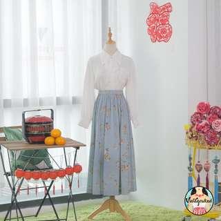 🍿 Vintage Midi Skirt VS1288