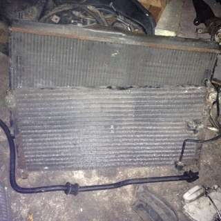 radiator condenser honda accord sm4