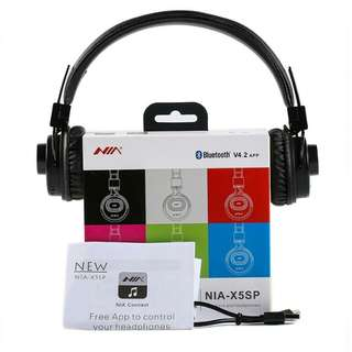 Nia X5sp Bluetooth Headset 6 in 1 (better than Nia X3)