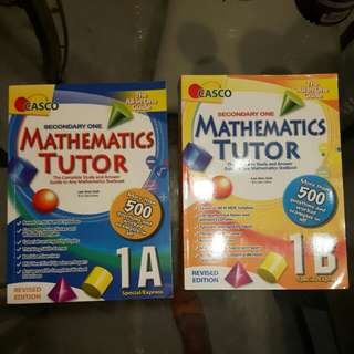 Sec 1 English and Chinese assessment books