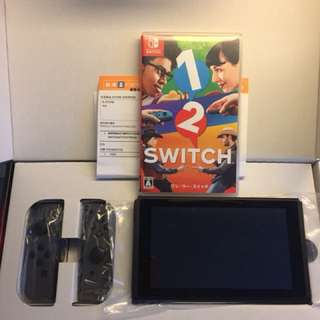 Nintendo switch 主機 有盒有單 極少玩 連1-2 switch
