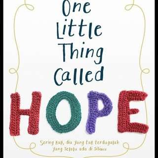 Ebook : One Little Thing Called Hope by Winna Efendi