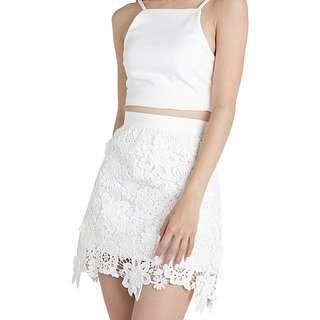 TTR Poppy Crochet Skirt
