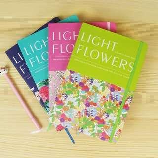 Light Flowers Notebook