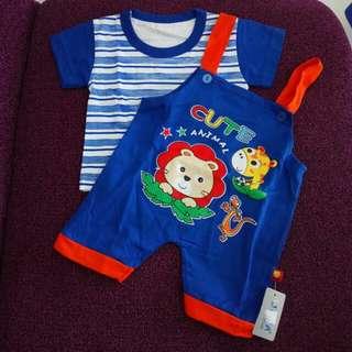 setelan Baju kodok anak bayi