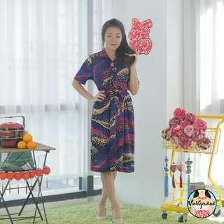 🍿 Vintage Midi Dress VD1140