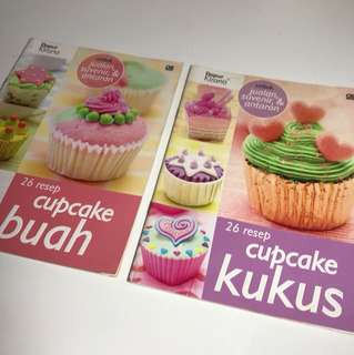 Buku resep cupcakes