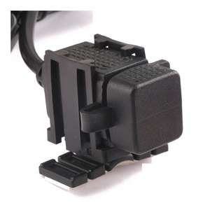 2V-24V 2.1A Waterproof Motorcycle Charger USB Power Supply For Cell Phone GPS Adapter Black