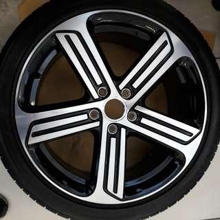 Volkswagen Golf R Sports Rim