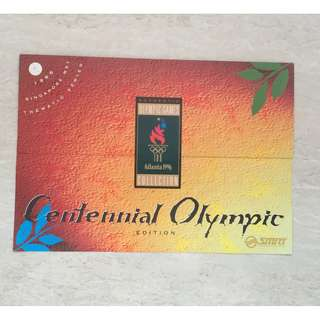 Limited Edition Centennial Olympic MRT Cards