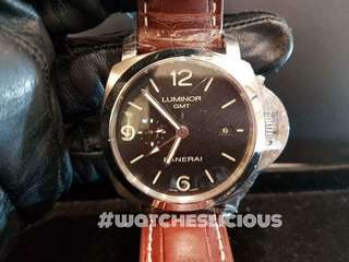 BRAND NEW PANERAI Luminor Marina 1950,  3 Days Power Reserved Accacio GMT, PAM 320, Year 2017 Automatic, 44mm MensWatch