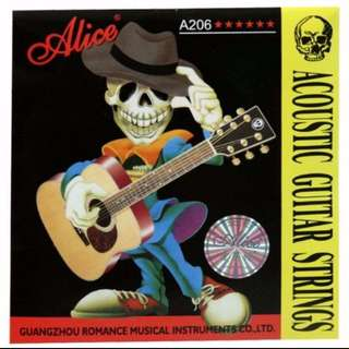 Acoustic Guitar String Set (6strings) Alice A206
