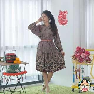 🍿 Vintage Midi Dress VD1150