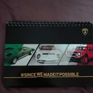 Lamborghini 2018 Desk Calendar