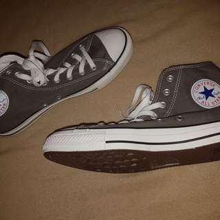 BRAND NEW Grey Hightop Converse (unisex)