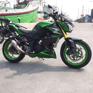 Ninja 250 thn 2014