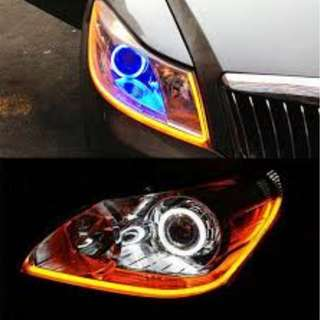 Car DRL & Signal Lights