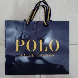 Paperbag / Paper Bag / Tas Karton Polo Ralph Lauren 2