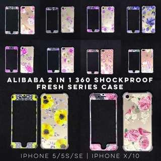 Alibaba 2 in 1 360 Shockproof case for Iphone 5 5s SE 6 6s Plus 6+ 6s+ 7 7+ 8 8+ Samsung J7 Pro Prime Oppo A37 F1s F3 Vivo V7+ V7 plus V5 V5s