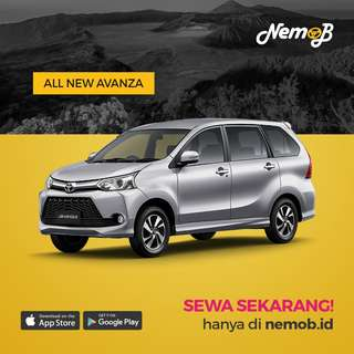 Sewa mobil Avanza dengan driver murah dan berkualitas di Bandung, Jogja, Bali, dan Medan. Hanya di Nemob.
