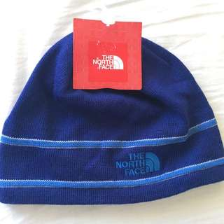 BRAND NEW (IMPORTED) THE NORTH FACE UNISEX LOGO BEANIE TNF BLUE ONE SIZE - INTL.
