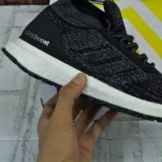 ADIDAS ULTRABOOST ATR MID KHAKI BLACK WHITE UNAUTHORIZED AUTHENTIC (UA)  BASF BOOST SIZE 36-40 STOCK TERBATAS