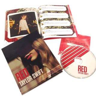 Red Zinepak - Taylor Swift