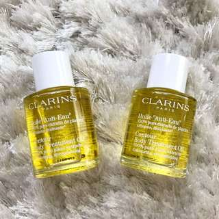 ✨[NEW] FREE NM✨ CLARINS Contour Body Treatment Oil 30ml ✨
