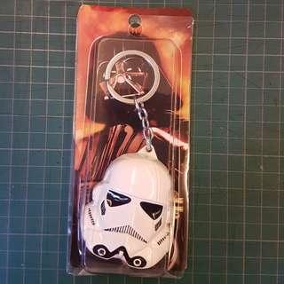 Brand New. Star Wars keychain. One piece only.