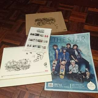B1A4 Old calendar and mag
