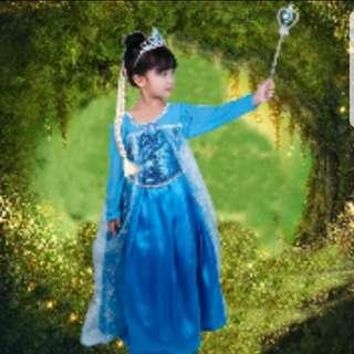 Frozen Princess Dress