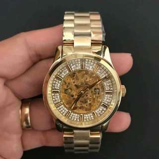 US GRADE ORIGINAL MK 9009 AUTOMATIC 💯Pawnable 💯Authentic comes with : original hardbox,manual,serial number,paperbag