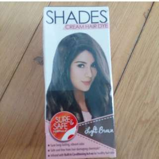 Shades hair color