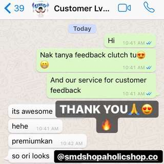 CUSTOMER FEEDBACK 🔥 SMD SHOPAHOLIC SHOP 🔥