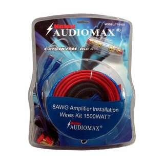 Netex AudioMax Amplifier Installation Wiring Kit 1500Watts