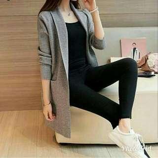 Cardi murah cardigan blazer outer rompi vest jaket jacket sweater coat jas fashion wanita ootd reseller welcome dropship