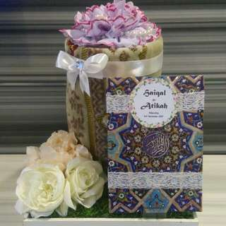 Dulang Gubahan Hantaran / Wedding Gift Trays